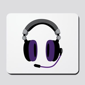 Video Gamer Headset Mousepad