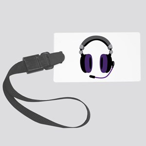Video Gamer Headset Luggage Tag