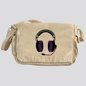 Video Gamer Headset Messenger Bag