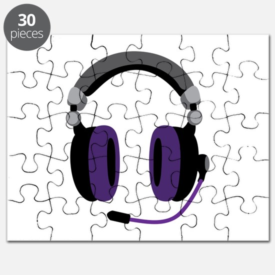 Video Gamer Headset Puzzle