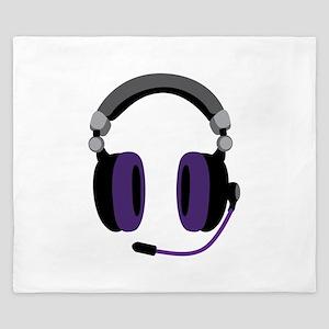 Video Gamer Headset King Duvet
