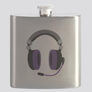 Video Gamer Headset Flask