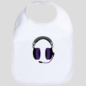 Video Gamer Headset Bib