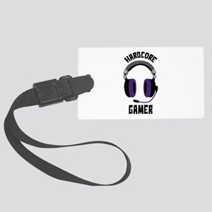 Hardcore Gamer Luggage Tag