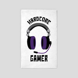Hardcore Gamer 3'x5' Area Rug