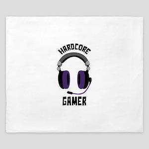 Hardcore Gamer King Duvet
