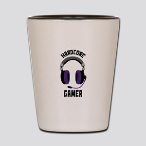 Hardcore Gamer Shot Glass
