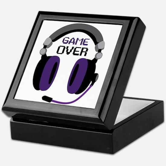 Game Over Keepsake Box