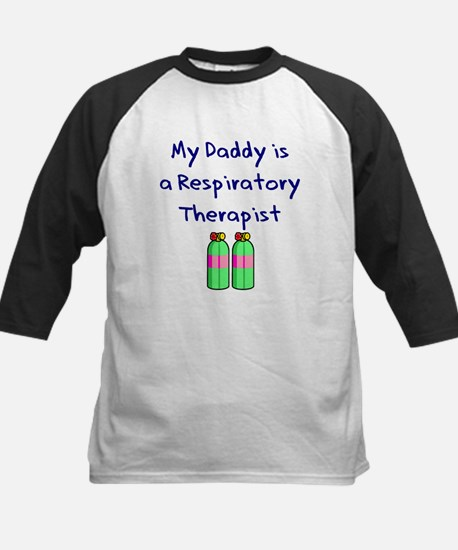 My Daddy Is A Respiratory The Kids Baseball Jersey