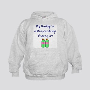 My Daddy Is A Respiratory The Kids Hoodie
