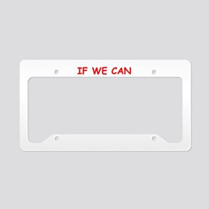 men License Plate Holder