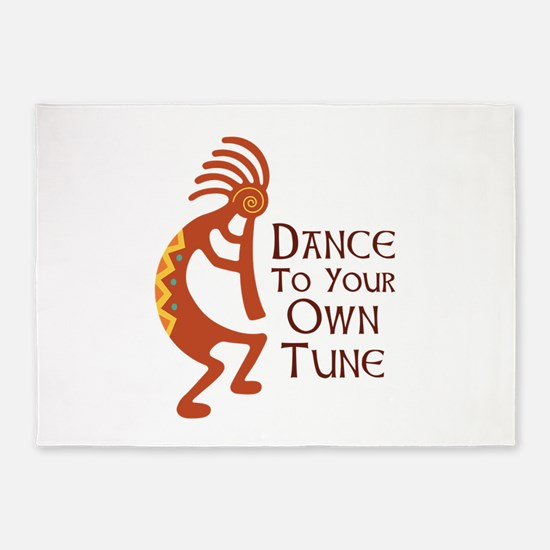 DANCE TO YOUR OWN TUNE 5'x7'Area Rug