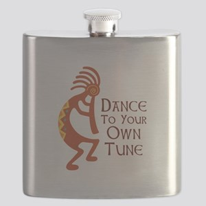 DANCE TO YOUR OWN TUNE Flask