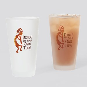 DANCE TO YOUR OWN TUNE Drinking Glass