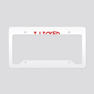 mine! License Plate Holder