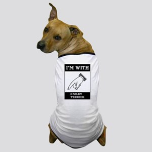 With the Silky Dog T-Shirt