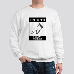 With the Silky Sweatshirt