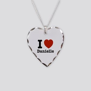 I love Danielle Necklace Heart Charm