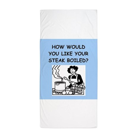 bad cook Beach Towel