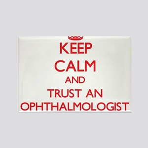 Keep Calm and Trust an Ophthalmologist Magnets