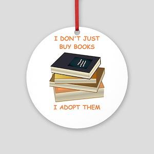 books Ornament (Round)