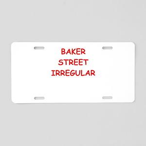 BAKER street Aluminum License Plate