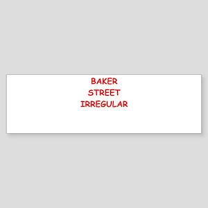 BAKER street Bumper Sticker