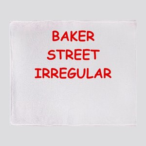 BAKER street Throw Blanket