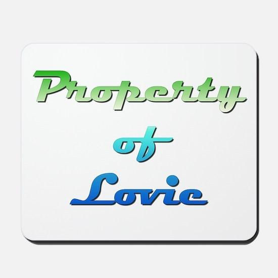 Property Of Lovie Female Mousepad