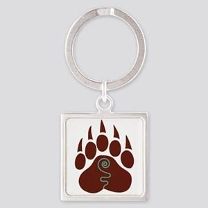 Native American Bear Claw Keychains
