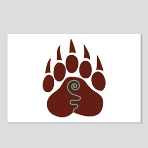 Native American Bear Claw Postcards (Package of 8)