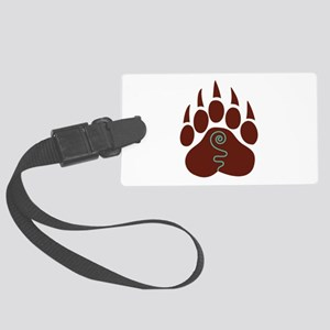 Native American Bear Claw Luggage Tag