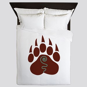 Native American Bear Claw Queen Duvet