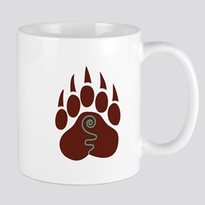 Native American Bear Claw Mugs