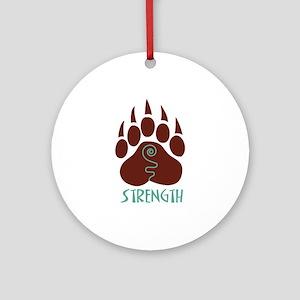 STRENGTH Ornament (Round)