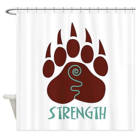 STRENGTH Shower Curtain