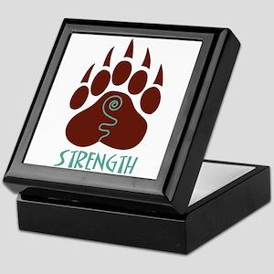 STRENGTH Keepsake Box