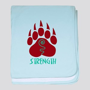 STRENGTH baby blanket