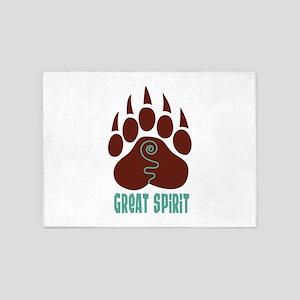 GREAT SPIRIT 5'x7'Area Rug