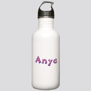Anya Pink Giraffe Water Bottle