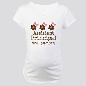 Personalized Assistant Principal Maternity T-Shirt