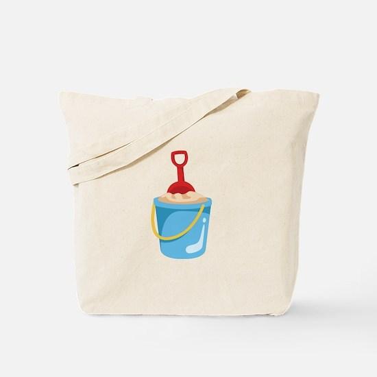Sand Bucket Tote Bag