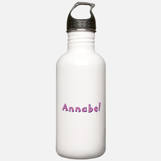 Annabel Pink Giraffe Water Bottle