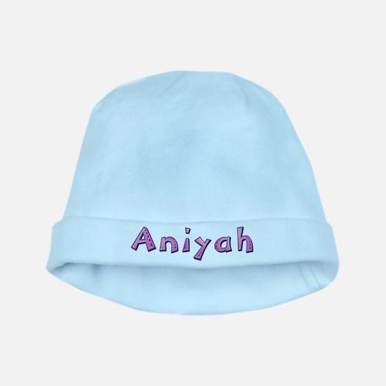 Aniyah Pink Giraffe baby hat