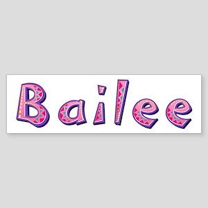 Bailee Pink Giraffe Bumper Sticker