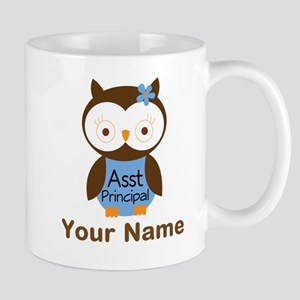 Personalized Assistant Principal Owl Mugs