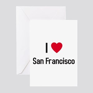 I love San Francisco Greeting Cards (Pk of 10)