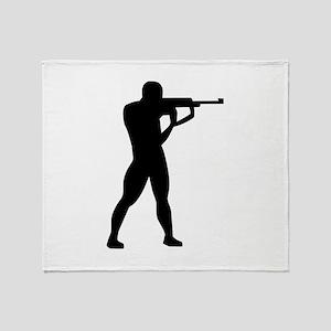 Sports shooting Throw Blanket