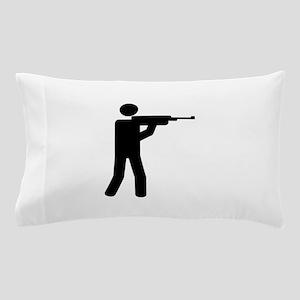Sports shooting icon Pillow Case