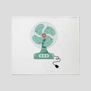 Household Fan Throw Blanket